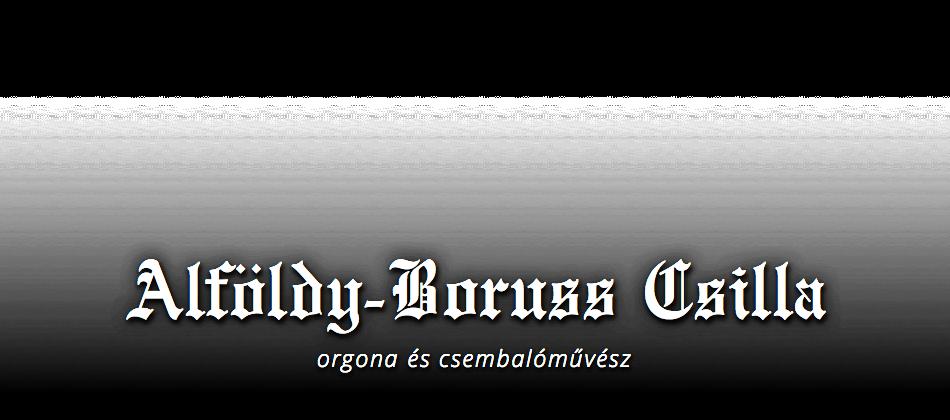 Alföldy-Boruss Csilla