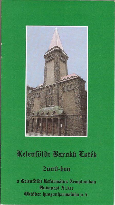 Kelenföldi Barokk Esték 2009